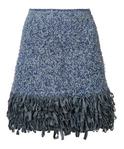 Spencer Vladimir | Fringed Mini Skirt