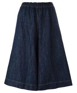 Sofie D'hoore   Dark Denim Shorts 36 Cotton/Linen/Flax