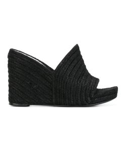 Balenciaga | Braided Wedge Sandals Size 38