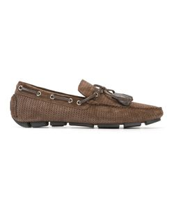 Canali   Perforated Driver Shoes 42