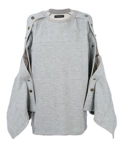 Y / Project | Popper Sleeve Sweatshirt Women