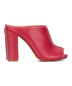 Erika Cavallini | Chunky Heel Mules Size 40