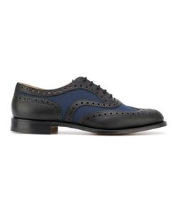 Church's | Contrast Panel Lace-Up Shoes Size 7.5