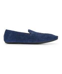 BOTTEGA VENETA | Fiandra Woven Loafers Size 43