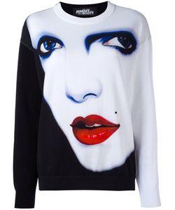 Jeremy Scott | Face Print Sweatshirt 40 Cotton