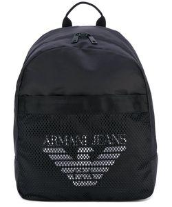 Armani Jeans | Mesh Logo Backpack