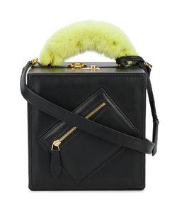 Natasha Zinko | Mink Fur Trimmed Shoulder Bag Women