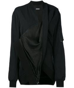 Moohong | Draped Bomber Jacket Size 36