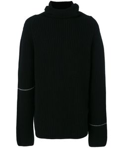 Lost And Found Rooms   High Neck Ribbed Jumper Men
