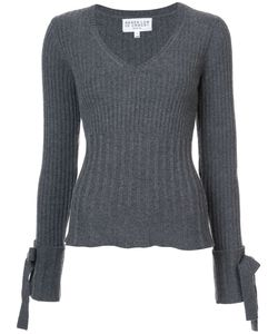 Derek Lam 10 Crosby | Tie Sleeve V-Neck Sweater