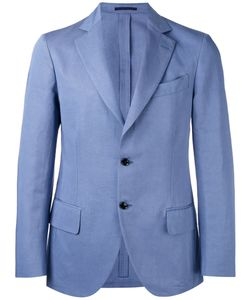Mp Massimo Piombo | Unconstructed Contrast Button Blazer Size