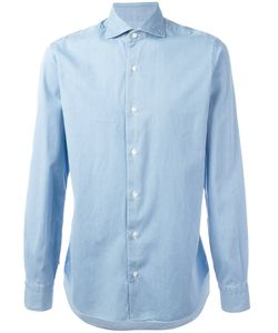 Barba | Pleated Cuff Shirt Size 38
