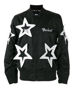 KTZ | Star Appliqué Bomber Jacket Size Xl