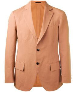 Mp Massimo Piombo | Unconstructed Contrast Button Blazer Size 48