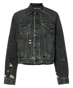 R13 | Loose-Fit Denim Jacket Size Small