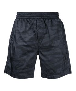 T by Alexander Wang | Abstract Print Swim Shorts Size Xs