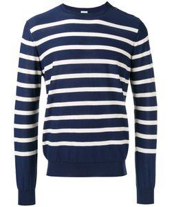 Malo | Stripe Buttoned Side Jumper 54 Cotton