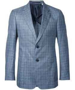 Cerruti   1881 Woven Check Blazer Size 50