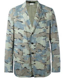 Dries Van Noten | Camouflage Print Blazer Size 48