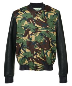 Off-White | Camouflage Bomber Jacket Size Xl