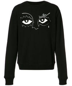 Haculla | Eyes Print Sweatshirt Xl Cotton