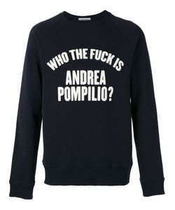 Andrea Pompilio | Who The Fuck Sweatshirt Size 46