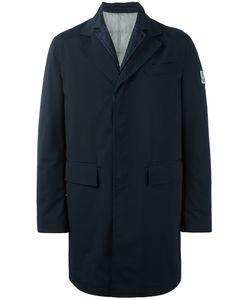 Moncler Gamme Bleu | Logo Patch Single-Breasted Coat