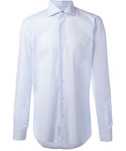 Barba | Curved Hemline Shirt 40