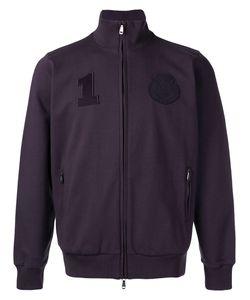 Brioni   Badge Patch Zipped Cardigan Size Xxxl