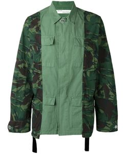 Off-White | Camouflage Print Cargo Jacket Small