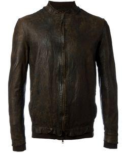 Salvatore Santoro | Mandarin Neck Zipped Jacket Size 52