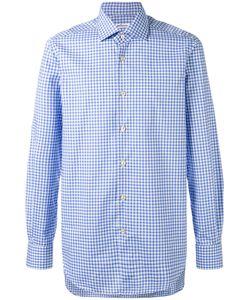 Kiton | Check Shirt 44