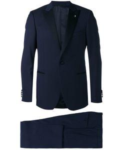 Lardini | Pointed Lapels Two-Piece Suit Size 50