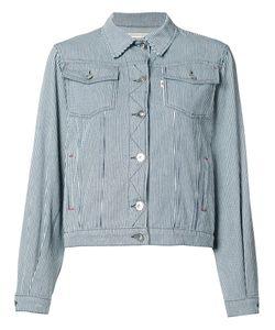 Maison Kitsuné | Striped Denim Jacket