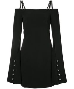 David Koma | Metal Ball Long Sleeve Dress