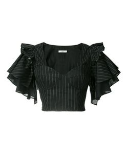 Tome | Cropped Frill-Sleeve Blouse 4
