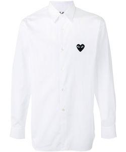 Comme Des Garçons Play   Heart Patch Shirt Size Large