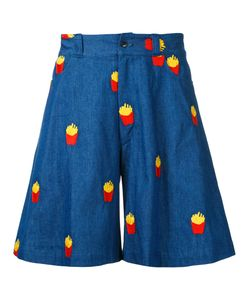 Mikio Sakabe | French Fries Shorts Adult Unisex Large Cotton