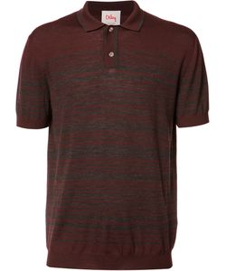 Orley | Striped Polo Shirt Medium Merino