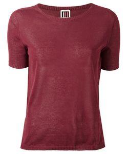 I'M Isola Marras | Knitted T-Shirt Xs Cotton/Polyamide/Polyacrylic
