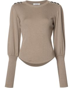 Christian Dada | Button Detail Jumper 38 Wool/Viscose