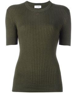 Courrèges | Ribbed Knit T-Shirt Size 1