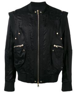 Balmain   Long Sleeved Zip-Up Jacket Size Medium