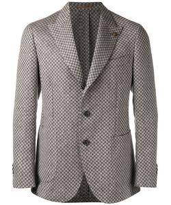 Gabriele Pasini   Checked Pattern Blazer 48