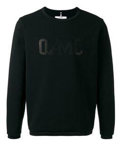 Oamc | Isle Logo Sweatshirt Large Cotton/Polyamide/Spandex/Elastane
