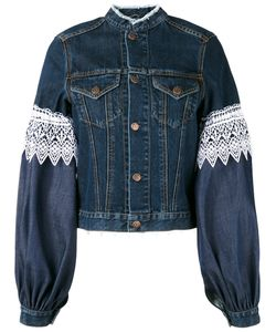 Forte Couture | Athos Lace And Denim Jacket