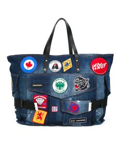 Dsquared2 | Patch Embroidered Denim Holdall