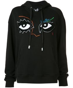 Haculla | Eye Embroidered Hoody Size Xs