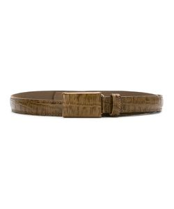 Egrey | Crocodile Skin Effect Belt