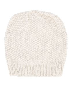 The Elder Statesman | Seed Stitch Beanie Adult Unisex